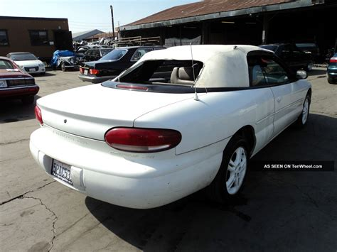 airbag deployment 1997 chrysler sebring electronic throttle control service manual how to remove a 1997 chrysler sebring transmission service manual how to