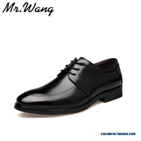 flat business shoes cheap flat shoes pointed toe fashion black dress shoes