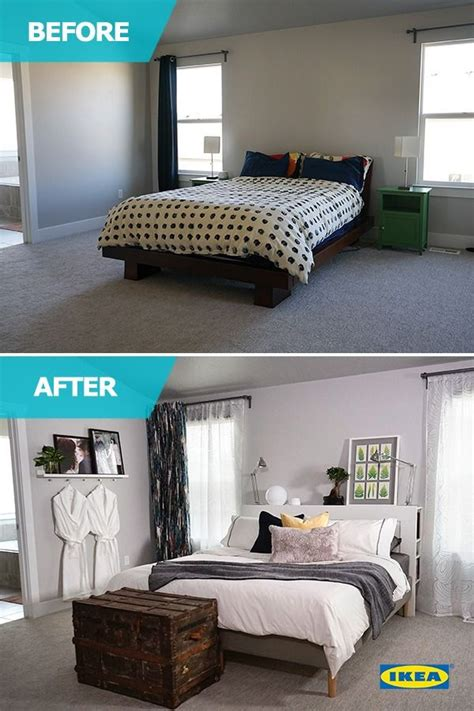 ikea bedroom makeover 1000 images about ikea home tour makeovers on pinterest