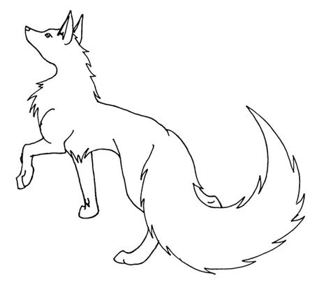 wolf template pin wolf template sketchfu on