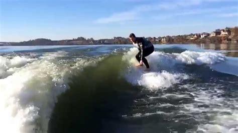best wake surfing boat 2017 wake surfing behind the mastercraft x23 youtube