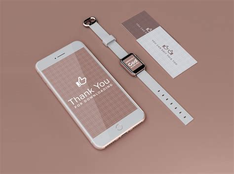 design photo mockups iphone and apple watch ui and branding mockup mockupworld