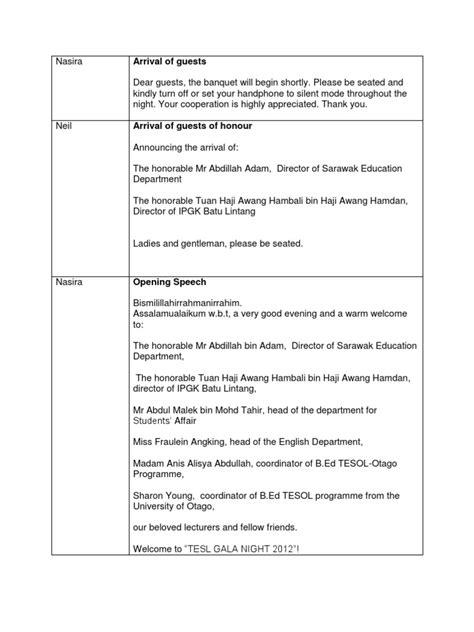 emcee script for christmas program of teachers emcee script for annual dinner by otago 2012 teachers