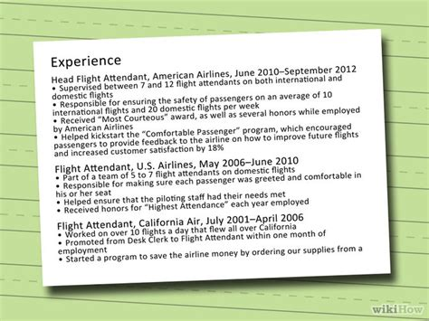 How To Write A Cabin Crew Cv by How To Write A Cv For A Cabin Crew Position With Sle Cv