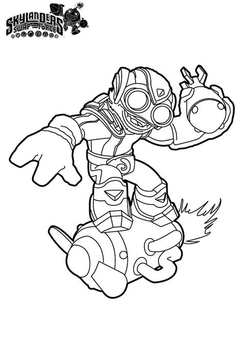 Skylanders #34 (Cartoons) – Printable coloring pages