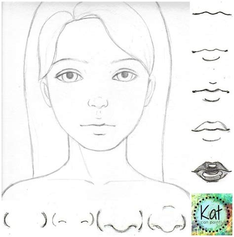 how to draw noses learn how to draw noses as a button in 4 simple