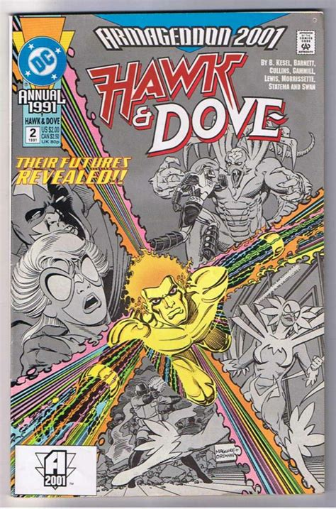 hawk and dove comic books hawk and dove annual 2 comic book 0 49 comic megastore corp our comic store
