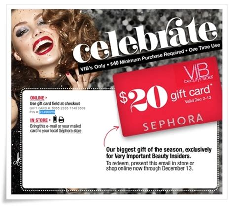 Centurylink Gift Card Promotion - sephora vib gifts 2017 gift ftempo