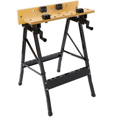 best adjustable bench arebos portable workshop adjustable work top bench