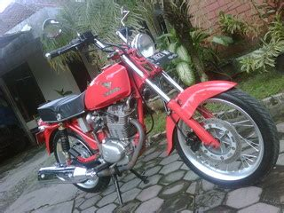 Stang Rg Retro For Mp Gl Tiger honda gl 100 1979 modif cb custom classic and vintage motorcycles