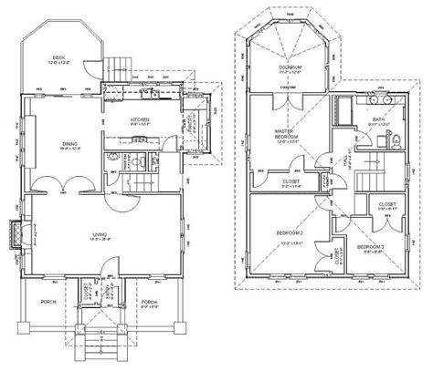 four square house plans modern foursquare house plans