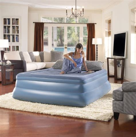 simmons beautyrest skyrise 19 inch pillow top express air bed with sporting goods