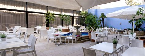 Brunch Patio by Palm Hotel Bungalows Larnaca Cyprus Gallery