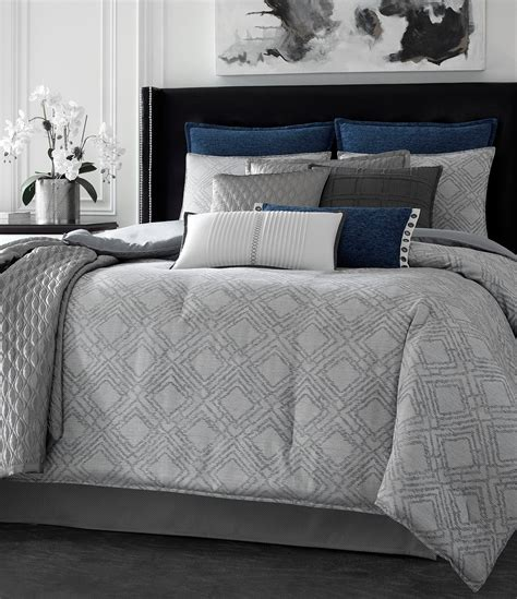 dillards comforters on sale candice olson finesse geometric jacquard comforter set