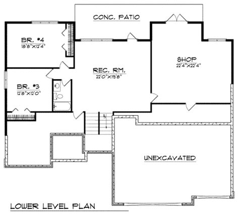 250 square foot apartment floor plan traditional style house plan 2 beds 2 baths 1940 sq ft