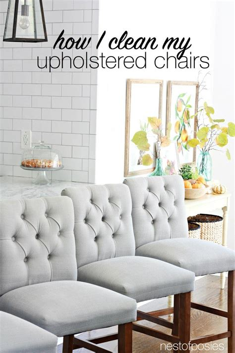 How To Clean Upholstered Chair by 20 Important Cleaning Hacks Honeybear