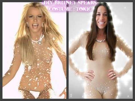Decor Tips by Diy Britney Spears Costume 2 The Toxic Rhinestone