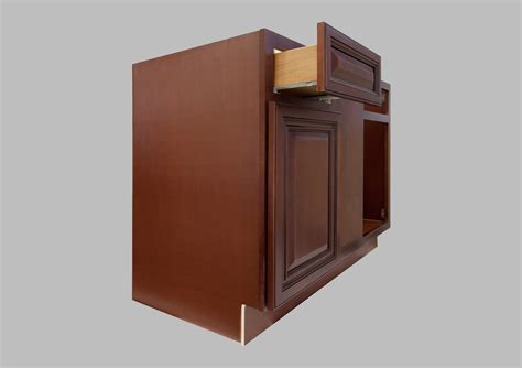corner kitchen base cabinet lesscare gt kitchen gt cabinetry gt cherryville gt lcscb42cherryville square corner base blind cabinet