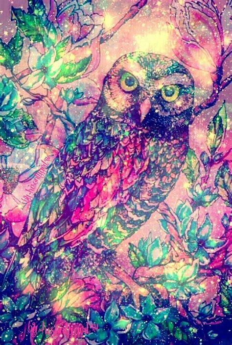 imagenes hipster moradas quot owl quot galaxy wallpaper i created wallpapers pinterest