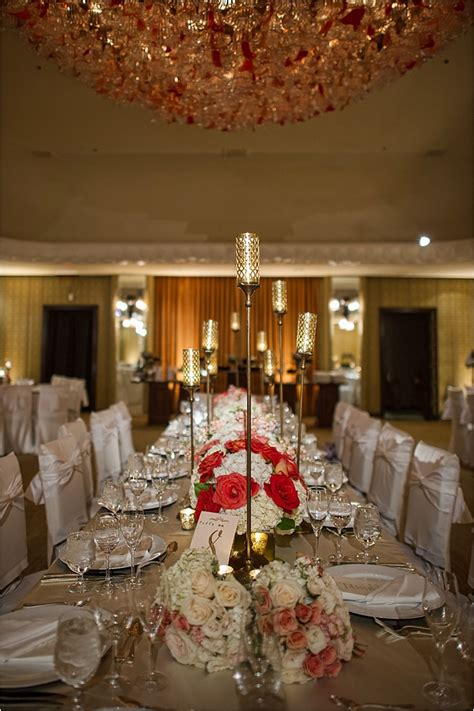 orange and silver wedding decor blush orange silver gold wedding at 4 seasons hotel