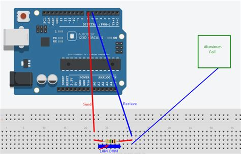 capacitive sensor project arduino uno capacitive sensor gets stuck arduino stack exchange