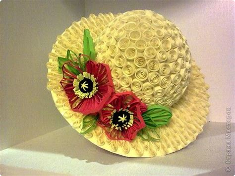 quilling hat tutorial quilling paper and hats on pinterest