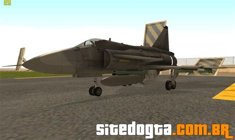 saab ja 37 viggen para gta san andreas site do gta