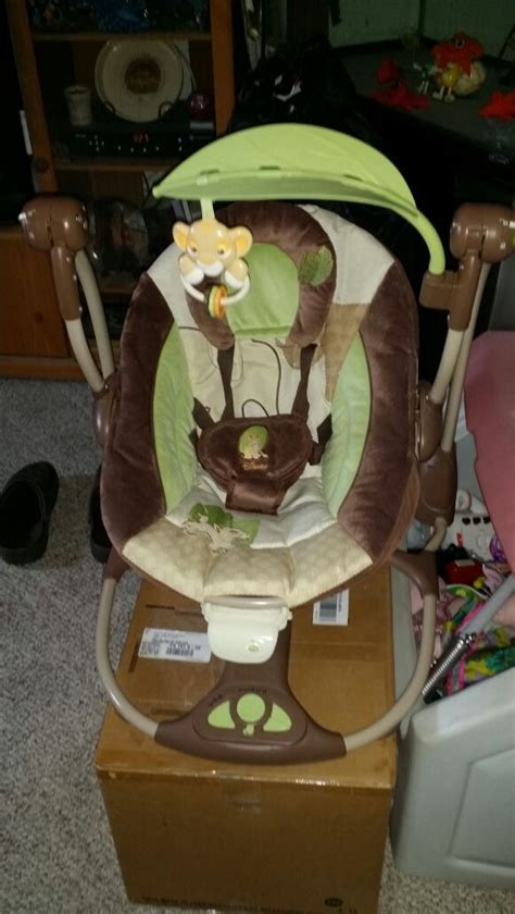 lion king infant swing travel size swing lion king baby kids in philadelphia