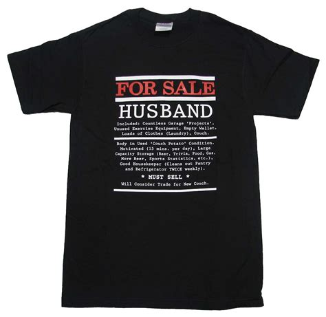 Boyfriend And Shirts For Sale Husband For Sale T Shirt