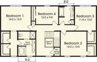 gallery for gt 4 bedroom house plans 2 story