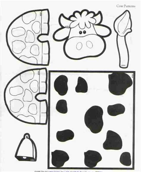 Cow Paper Craft - toilet paper roll cow craft learningenglish esl