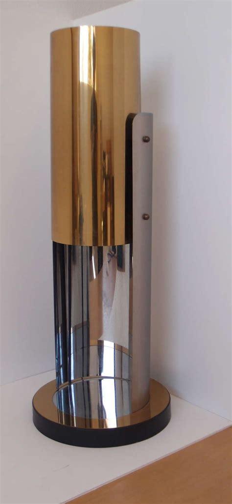 stilnovo lade sculptural brass and chrome curtis jere table l
