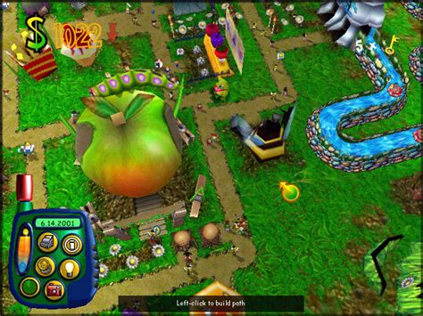 download theme park pc game sim theme park pc version download full version