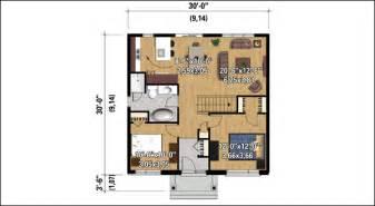marvelous plan cuisine ouverte salle manger #5: plan-maison-bois ... - Plan De Cuisine Ouverte Sur Salle A Manger