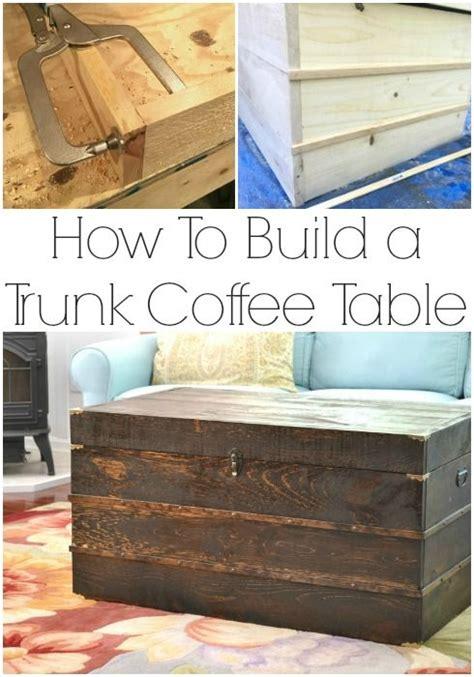 best 25 trunk coffee tables ideas on wooden