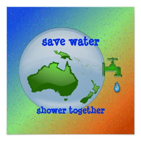 Shower That Saves Water by Save Water Shower Together Zazzle