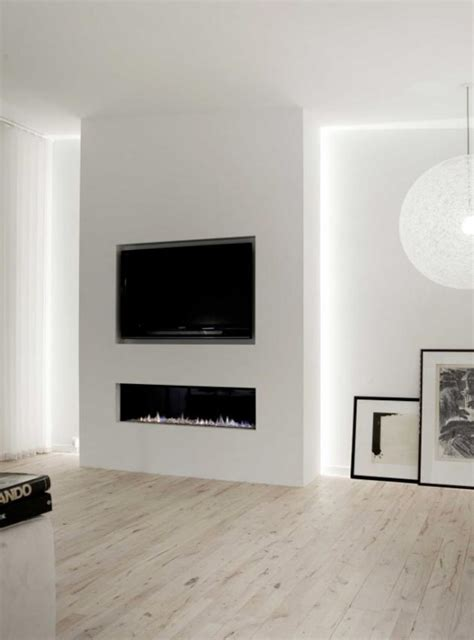 Gas Fireplace With Tv by Contemporary Gas Fireplace With Tv Above Google Search