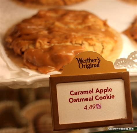 karamell kuche epcot snack series caramel apple cookie from epcot s germany