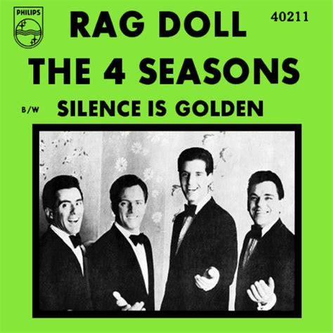 rag doll by the four seasons the 4 seasons rag doll silence is golden at discogs