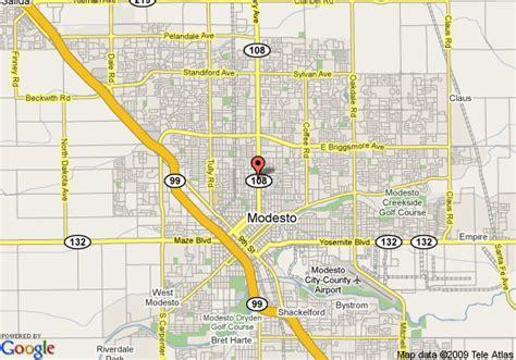 california map modesto map of rodeway inn modesto modesto