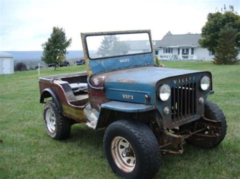 jeep cj for sale in pa sell used 1953 willys jeep cj3b 4x4 in mills