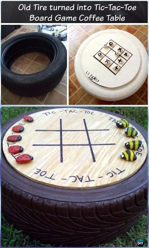 recycle meubels diy recycled old tire furniture ideas projects for home