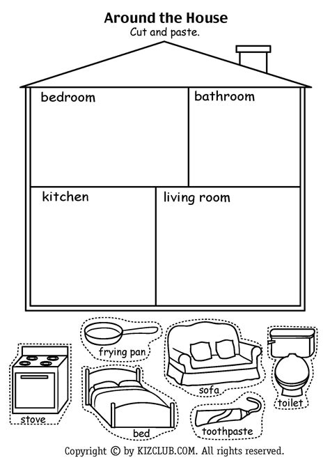 httpkizclubcommyselfhtm houses buildings pinterest worksheets