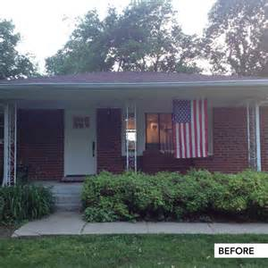 Featured blogger post exterior makeover