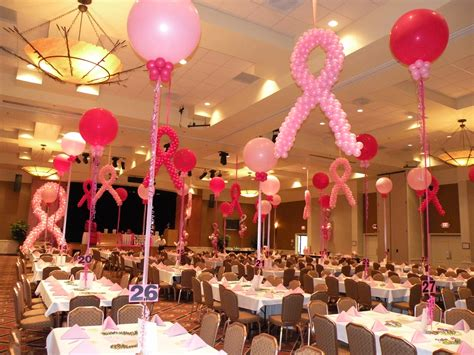Breast Cancer Awareness Decoration Ideas Breast Cancer Fundraising Event Decor Such An Inspiring
