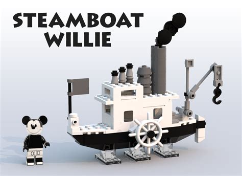 steam boat willy lego ideas steamboat willie