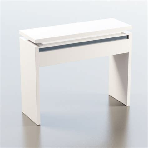Black Gloss Console Table Garde Console Table In White And Black Gloss With Led