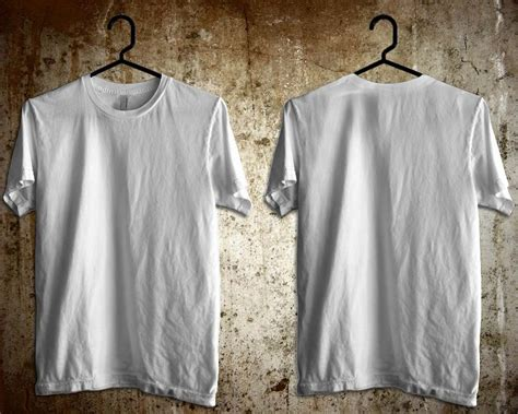 Kaos Polos Putih Cotton Combed 20 S Lengan Panjang Manset M 1 template kaos photoshop studio design gallery best design