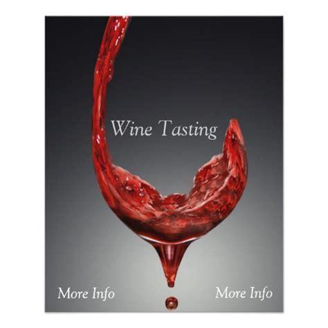 Wine Tasting Flyer Zazzle Free Wine Tasting Flyer Template