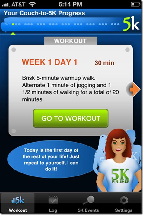 couch to 5k treadmill app the c25k app